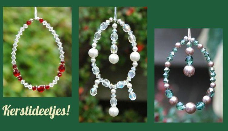 Zelf kerstversiering maken met kristal en glaskralen for Ballonnen versiering zelf maken
