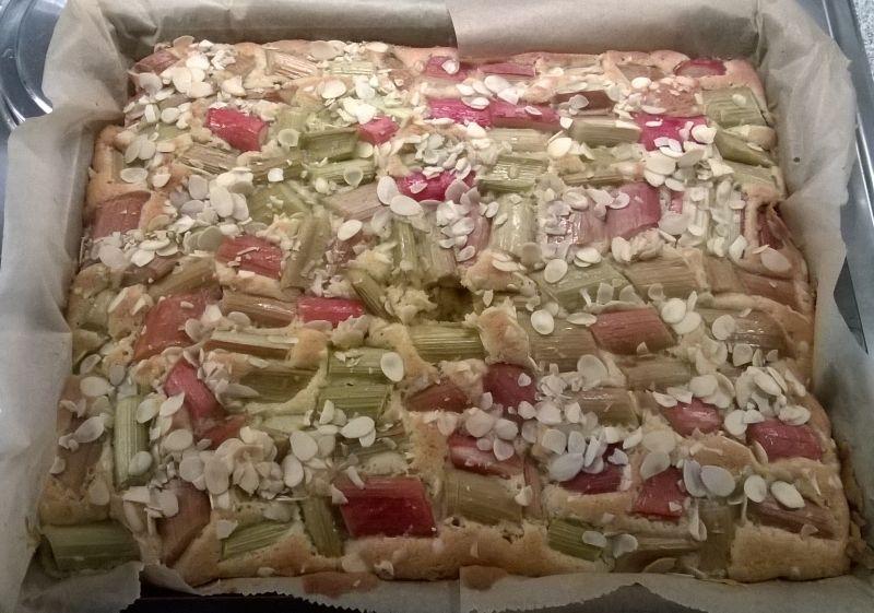 rhabarberkuchen maken