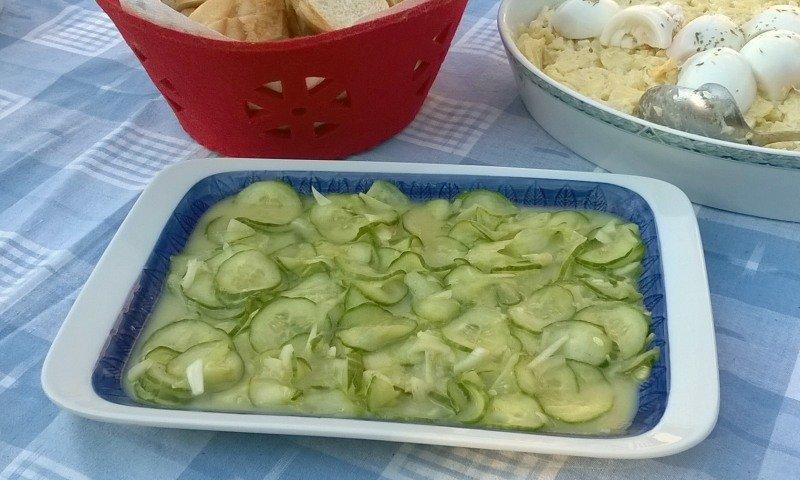 recept duitse komkommersalade