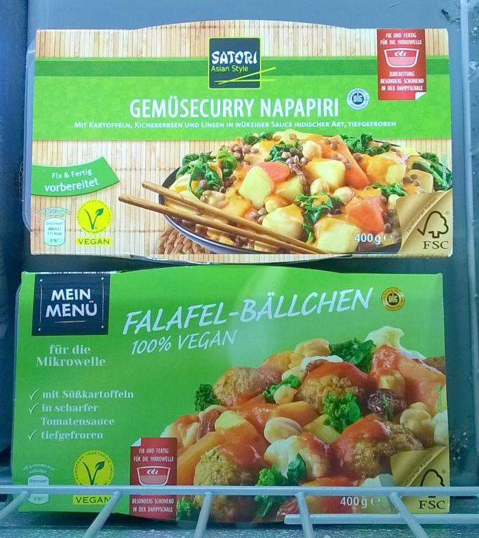 vegetarisch eten in Duitsland