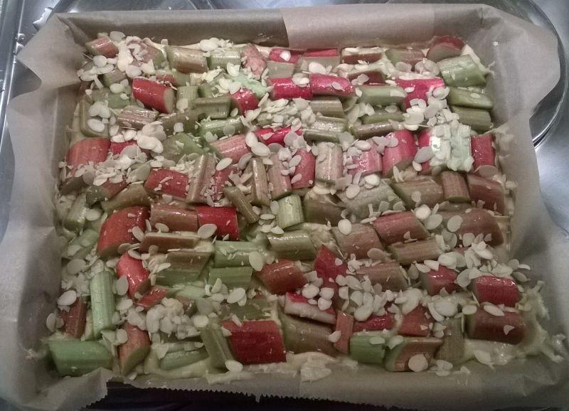 rabarberkuchen maken