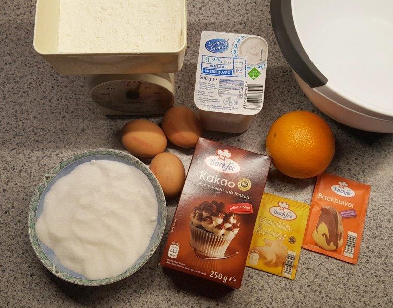 chocolade kwarktaart